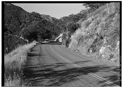 Amazon com: HistoricalFindings Photo: Generals Highway,Three