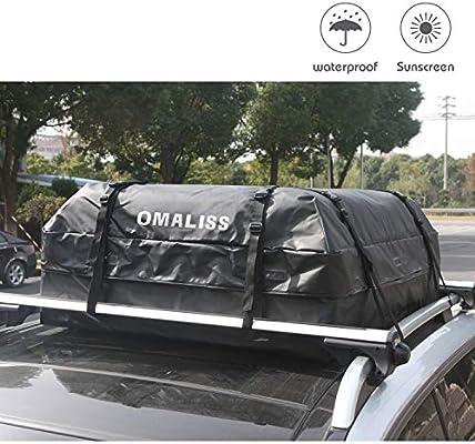 Waterproof Car Touring SUV Van Roof Top Bag Rack Cargo Carrier Luggage Storage