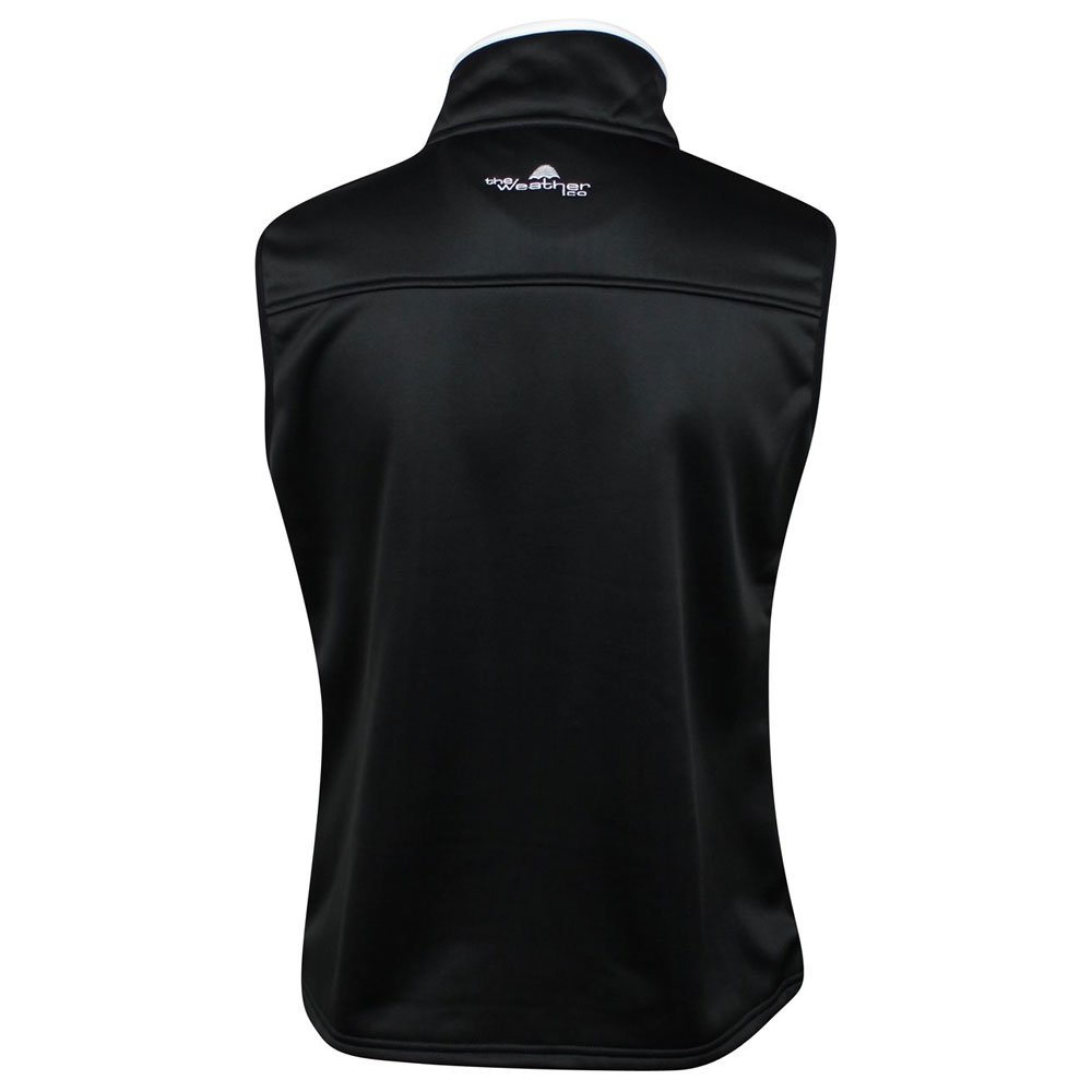 The Weather Apparel Co Poly Flex Golf Vest 2017 Women Black/White Large by The Weather Apparel Co (Image #2)
