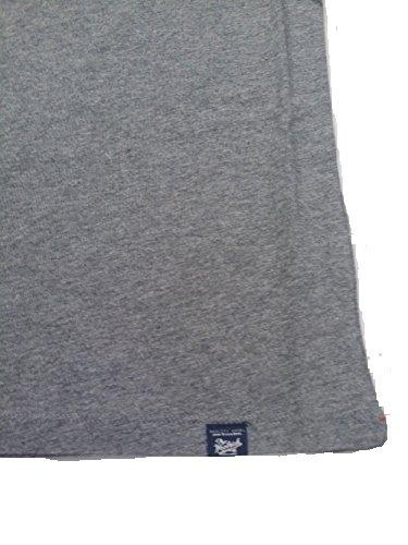 Cotone Uomo Stretch Slim 185 Logo Wotee1082 Manica Grigio In Woolrich Corta shirt Fit T 0xIaSn8qw