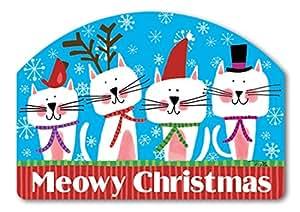 Diseño de patio Meowy Navidad Yard Sign # 71262
