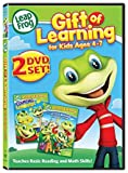 Leapfrog 10-DVD Mega Pack - Learn to Read at the Storybook Factory/ Numberland/ Phonics Farm/ Let's go to School/ Talking Words Factory/ Great Shape Mystery/ Sing and Learn With Us/ Letter Machine Re