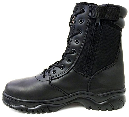 G4U-CT Men's Tactical Boots Black Side Zipper 8