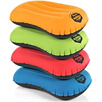 Camping Pillow - Inflatable Travel Pillows - Multiple...
