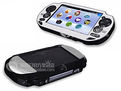 (Szjay ® Metal Aluminum Metallic Protection Hard Case Cover for Playstation Ps Vita 1000)