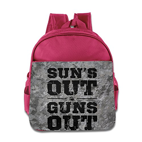 Suns Out Guns Out Children Kids Small Toddler Backpack For Boy Girl Pink - Cat Valentine Genie Costume
