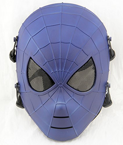 Gmask Spiderman Airsoft Full Face Mesh Paintball Masks NEW Replica