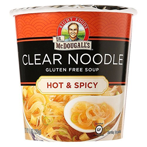 Dr McDougalls Hot and Spicy Clear Noodle Asian Soup, 1 Ounce - 6 per ()