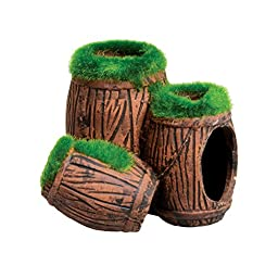 Underwater Treasures 53610 Mossy Barrel Triple Hideout