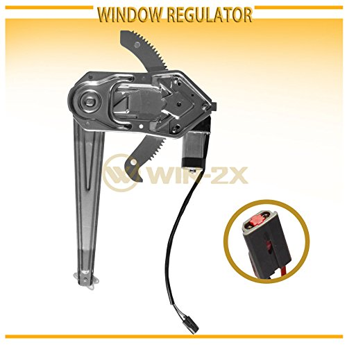 WIN-2X New 1pc Front Driver (Left) Side Power Window Regulator & Motor Assembly Fit 93-11 Ford Ranger 94-10 Mazda B2300/B2500/B3000/B4000 Pickup Truck Mazda Pickup Truck Power Window