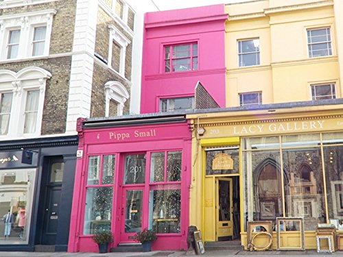 Portobello Road Market Notting Hill London + Electric Cinema + Ottolenghi