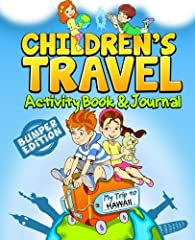 Visiting Hawaii with your kids? This fun filled activity book and journal is a great way for kids to plan and record their own travel adventures and make a treasured memory book for their trip to Hawaii. Cool Hawaii specific crossword, word s...