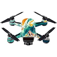 Skin For DJI Spark Mini – Acid Surf | MightySkins Protective, Durable, and Unique Vinyl Decal wrap cover | Easy To Apply, Remove, and Change Styles | Made in the USA