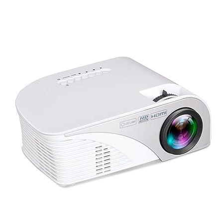 Mini Proyector HD LED Micro Proyector Mini Proyección De Cine En ...