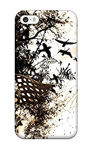 Slim Fit Tpu Protector Shock Absorbent Bumper Dark Fantasy Case For Iphone 5/5s