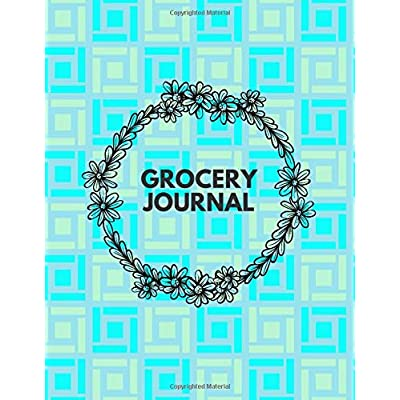 Buy Grocery Journal Shopping List And Weekly Meal Planner Notebook Journal Grocery Lists Menu Planning Personal Kitchen Organiser For Restaurants Household Use Shopping Grocery List Pads Paperback Large Print October