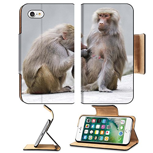 msd-premium-apple-iphone-7-iphone7-flip-pu-leather-wallet-case-image-id-14744895-two-baboons-engaged