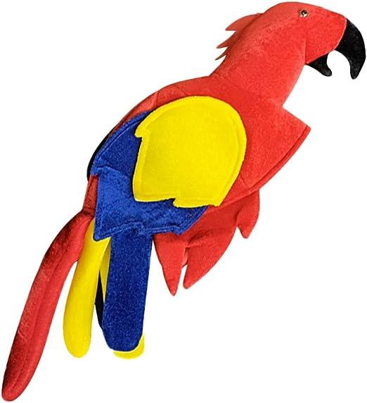 FENICAL - Bolsa de papagayo Jimmy Luau Buffet para Disfraz de ...