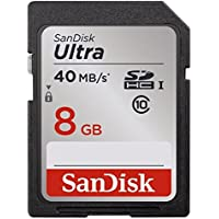 SanDisk 5-pack ULTRA 8GB Class 10 SDHC Memory Card Up To 40MB/s (SDSDUN-008G-G46)