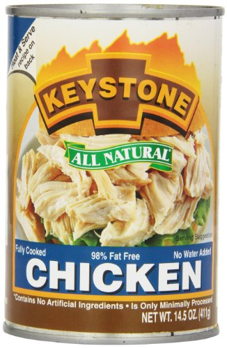 Keystone Meats All Natural Canned Chicken  14 5 Ounce