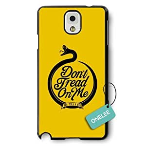 Don't Tread On Me Snake-shaped Hard Plastic For Case Iphone 5/5S Cover - Black 7