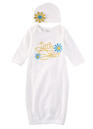 6bccda036720 Amazon.com  Baby Girl Newborn Infant Girl Take Home Outfit Little ...
