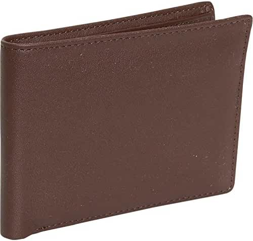 Royce Leather Men's Flat Fold Wallet