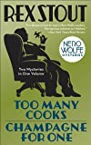 Front cover for the book Too Many Cooks by Rex Stout