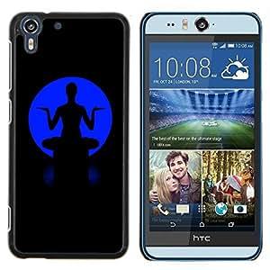 Eason Shop / Premium SLIM PC / Aliminium Casa Carcasa Funda Case Bandera Cover - Alas de neón - For HTC Desire Eye ( M910x )