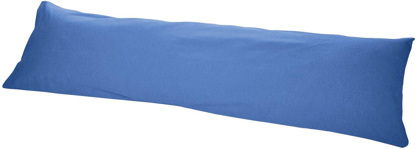 Best Price London MERADISO/® Feinbiber Kissenbezug f/ür Seitenschl/äferkissen blau uni, 40 x 145 cm