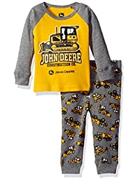 John Deere Boys' 2 Piece Pajama Set