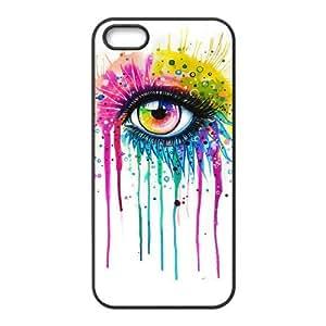 DIY High Quality Case for Iphone 5,5S, Rainbow Eye Phone Case - HL-R639006