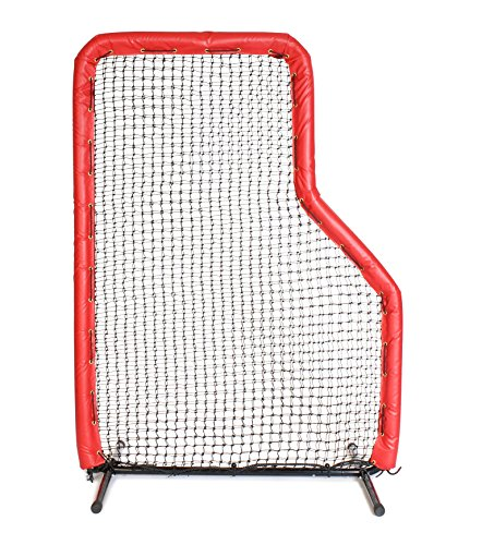 7x5 Armor JR Baseball Pitching L-Screen with RED Padding by Armor