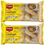 Ladyfingers - Naturally Gluten-Free and Wheat-Free - 5.3 oz Each (Pack of 2)