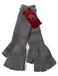 "Gravity Threads Long 11"" Knit Warm Fingerless Gloves"