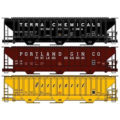 Accurail 8102 HO PS Covered HOP 3PK