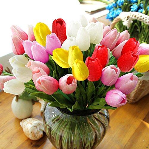 home-decor-12pc-set-pu-stunning-holland-mini-tulip-flower-real-touch-wedding-flower-artificial-flowe