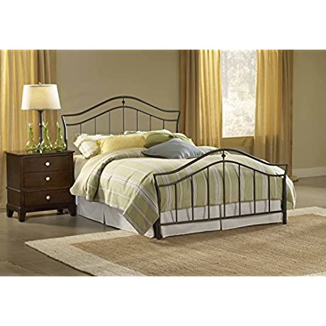 Hillsdale Furniture 1546BK Imperial Bed Set King Twinkle Black