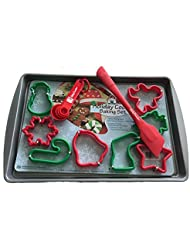 Christmas Cookie Baking Kit With Betty Crocker Accessories Bundle