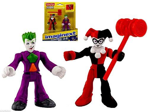 "The Joker & Harley Quinn DC Superfriends Imaginext Figures 2.5"""