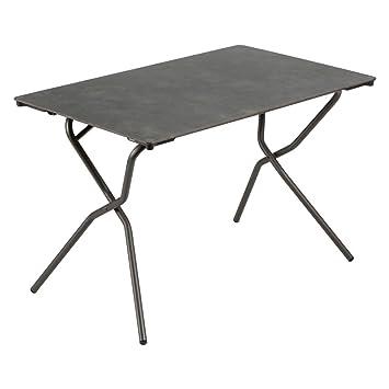 Lafuma lfm2715 Anytime Table Rectangle 110 x 68 cm, volcanique, 68,1 ...