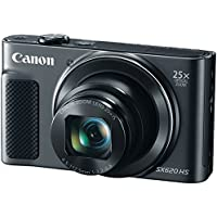 CANON 1072C001 20.2-Megapixel PowerShot(R) SX620 Digital Camera (Black)