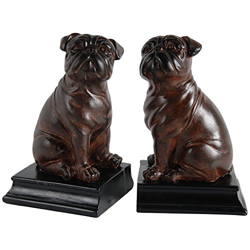 Puppy Bookends - NACH SE-73653 Sitting Bulldog Bookends