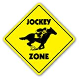 JOCKEY ZONE - Sign