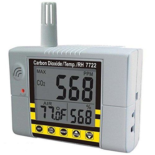 AZ-0015 cSense CO2 + RH/T Monitor w. Relay