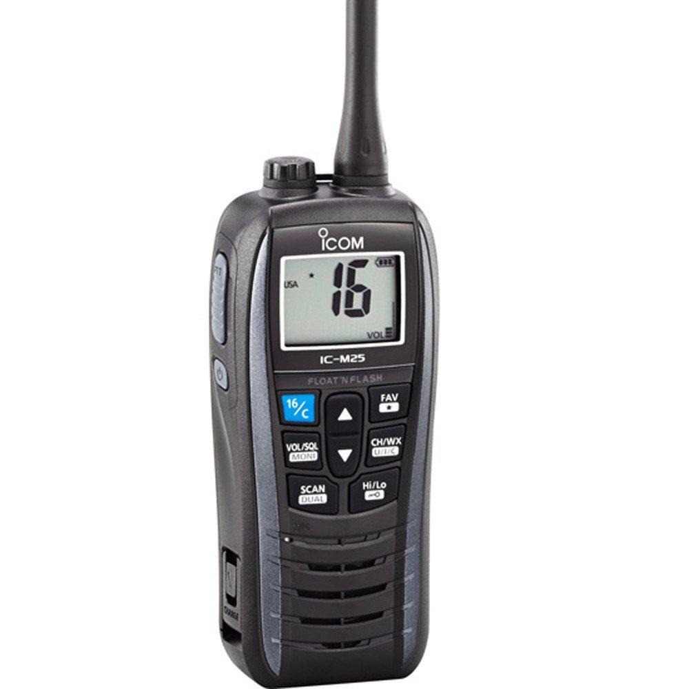 ICOM IC-M25 01 Handheld VHF Radio - Gray by Icom (Image #1)