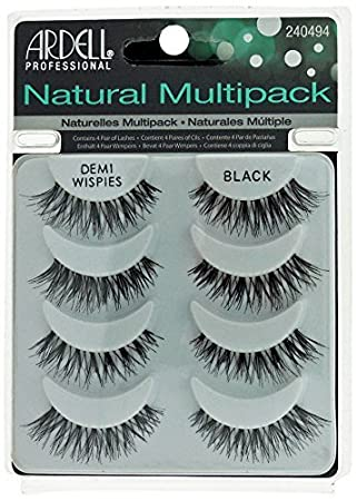 f9703fc030e Ardell Multipack Demi Wispies Eyelashes: Amazon.co.uk: Beauty
