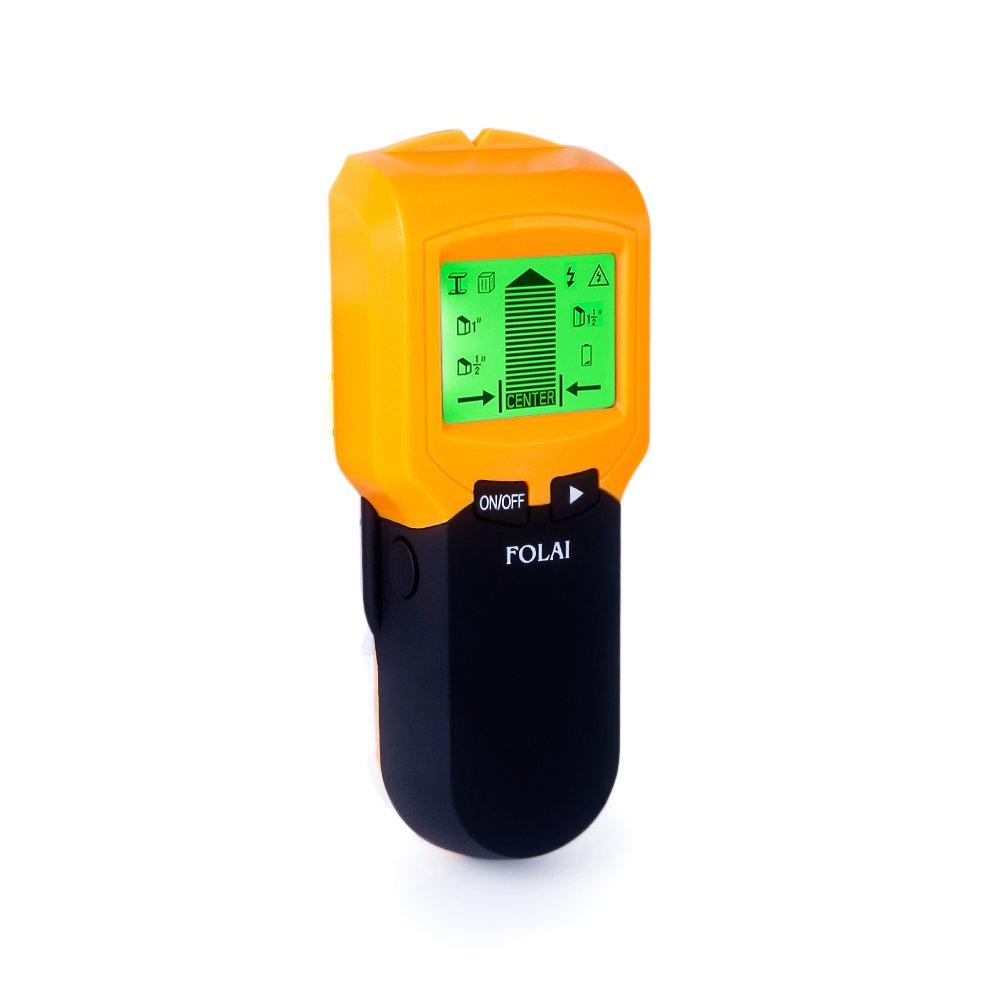 Detector de Pared 3 EN 1 Pantalla LCD Detector De Pared Para Detecta AC Cable ,Metal Tuberías,Madera En La Pared Detector Cables y Tuberias: Amazon.es: ...
