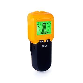 Detector de Pared 3 EN 1 Pantalla LCD Detector De Pared Para Detecta AC Cable ,Metal Tuberías,Madera En La Pared Detector Cables y Tuberias: Amazon. es: ...