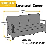 KHOMO GEAR GER-1038 Outdoor Lounge Sofa Patio Cover